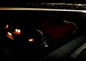 cars by night